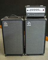 Ampeg Micro VR and two SVT-210AV cabinets - 200watts