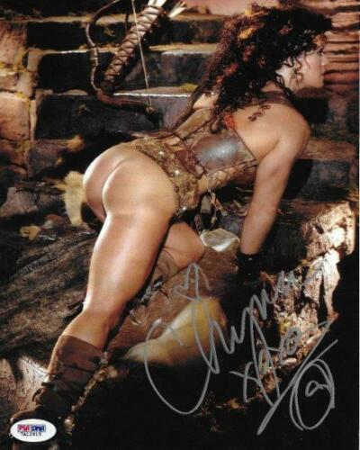 REPRINT - CHYNA WWE WWF Joan Laurer Signed Autographed 8 x 10 Photo RP Man Cave
