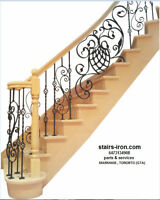 Stairs Treads.Baluster.Parts.Service . Design & CONSULTATION
