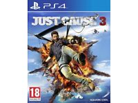 JUST CAUSE 3 PS4 GAME FOR SALE