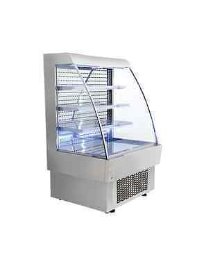 Omcan Rs-cn-0380 Open Air 13.4cf 40 Refrigerated Grab And Go Display Case New