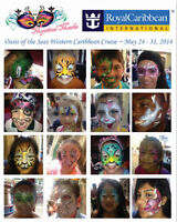 Face Painting - Book NOW for birthday Parties, Easter, Stampede