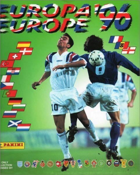 Panini euro 96   europa 96  sticker original