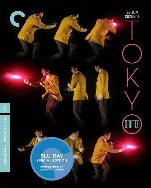 CRITERION COLLECTION: TOKYO DRIFTER - BLURAY - Region A - Sealed