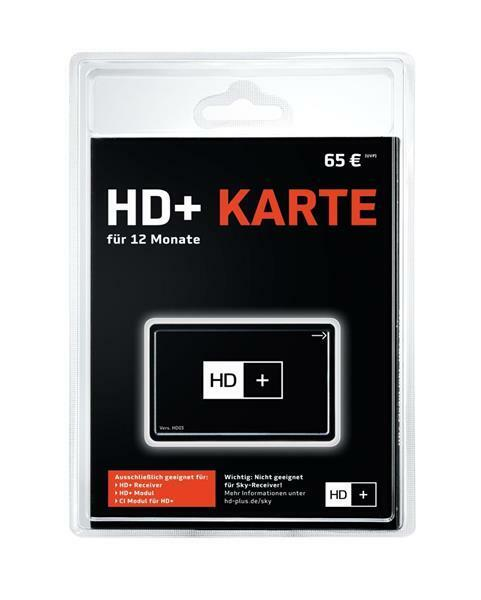 HD+ Karte 12 Monate inkl. Vantage UHD 4000 Sat Receiver HDTV Twin Tuner