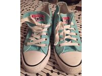 Converse... Baby Blue Size 5