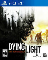 Dying Light - PS4 - Excellent condition!