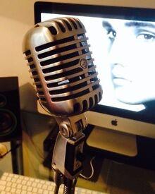 Shure 55sw 1960s original vintage microphone
