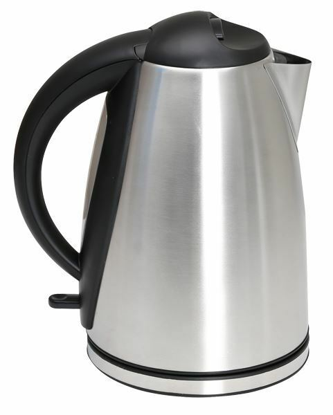 Quest 1.7L Low wattage stainless steel polished kettle