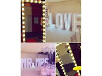 Magic Selfie Mirror Photo Booth Hire [candy carts/4ftledlove/chaircovers]