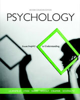 Pyschology From Inquiry to Understanding 2nd Canadian Edition