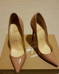 Christian Louboutin So Kate Nude Patent  36 120mm high heels Melbourne CBD Melbourne City Preview