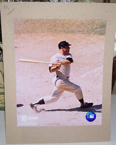 Mickey Mantle NY Yankees Cooperstown Collection Photo
