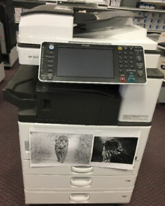 LEASE Ricoh Monochrome Multifunction Printers 11x17 12x18 13x19