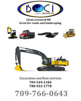50 Ton float services and excavation work