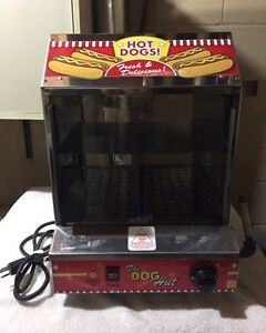 'THE DOG HUT'  COMMERCIAL HOTDOG STEAMER