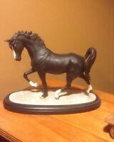 Lenox Arabian Knight Porcelain Horse figurine