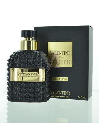 Valentino Uomo Noir Absolu Perfume  Eau De Parfum 3.4 Oz 100 Ml Spray For Men for sale  Long Island City