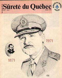 S.Q. Magazine Sûreté du Québec - Revue SQ
