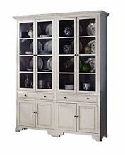 French Provincial Classic White Cupboard Display Cabinet Bookcase Dandenong South Greater Dandenong Preview