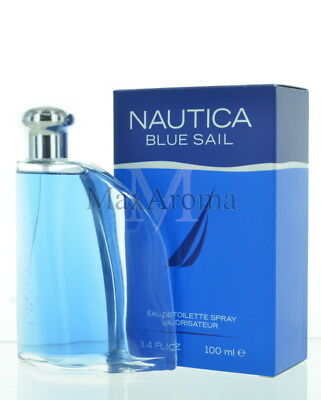 Nautica Blue Sail Cologne For Men Eau De Toilette Spray 3.4 Oz  100ml
