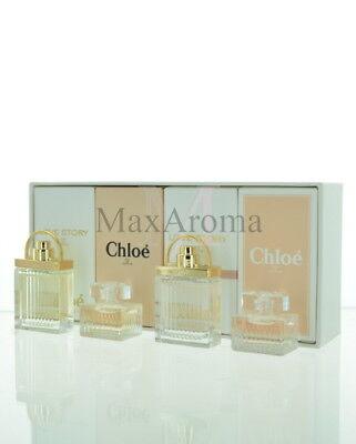 Chloe Les Parfums Mini Perfume Set 4 Piece Mini Perfume