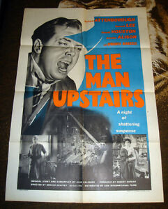 RARE 1958 UK BRITISH FILM NOIR MOVIE POSTER RICHARD ATTENBOROUGH