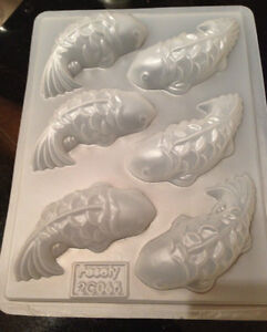 Chinese New Year Fish Steaming Nian Gao Jello Plastic Mold