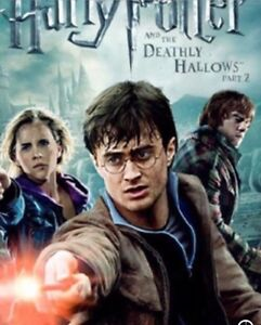 Looking for Harry Potter  DVD's deathly hallow part 2