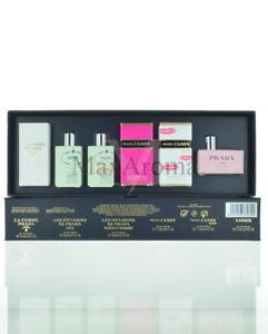 Prada Miniature Perfume Collection For Women  6 Piece Gift Set