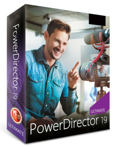 PowerDirector 19 Ultimate | Windows | Advanced Editing Video