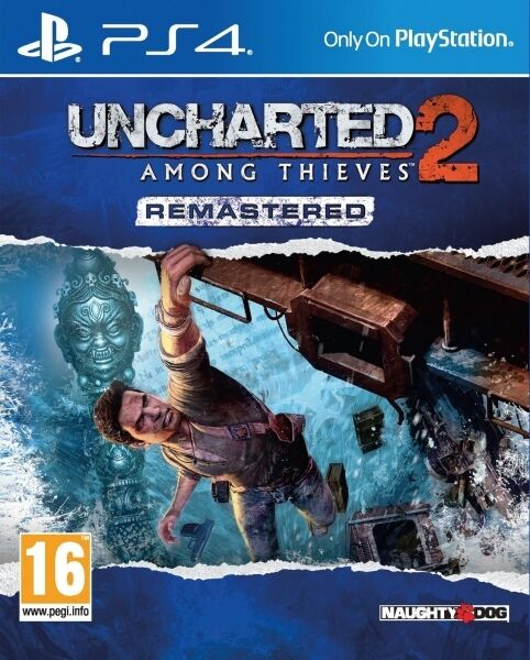 Uncharted 2 Among Thieves Remastered PS4 * NEW SEALED PAL *