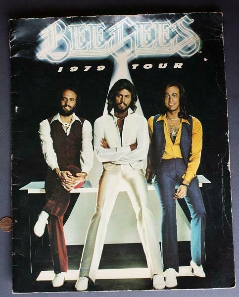 1979 The Bee Gees World Tour ON SITE Concert Program-Saturday Night Fever-DISCO!