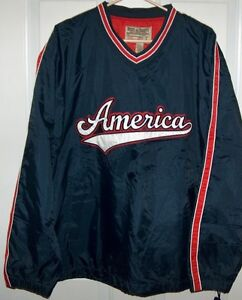 STEVE & BARRY'S Pull Over Mens L Warm Up Jacket London Ontario image 2