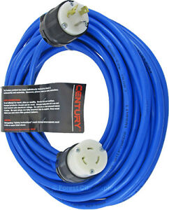 New - HEAVY DUTY 12GA INDUSTRIAL GRADE EXTENSION CORDS WITH LOCKING L5-20 ENDS !!