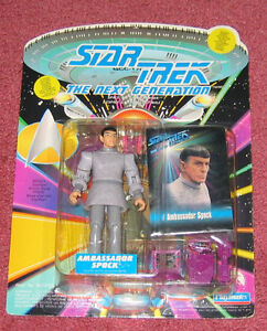 Star Trek: The Next Generation - Ambassador Spock figure in pack