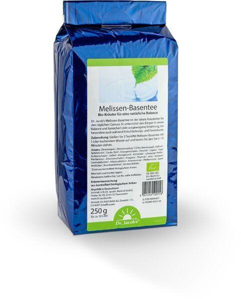 Dr. Jacob´s Melissen-Basentee 250 g Bio ( 59,80 EUR / kg ) + wählbare Probe