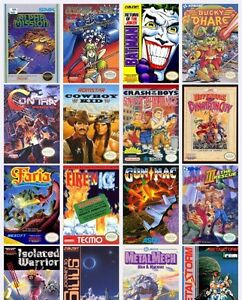 Want these Nintendo NES games have N64 Dreamcast for trade