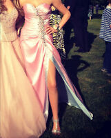 Tony Bowls Pink Prom Dress, size 4