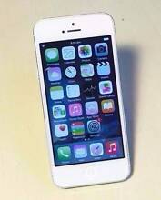 X2 iPhone 5 16gb Silver unlocked with charger Bundall Gold Coast City Preview
