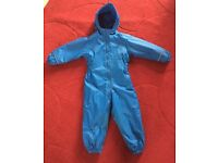 Regatta boys blue all in one splash suit 24-36 months