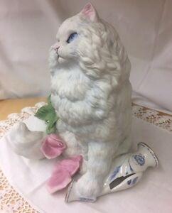 "Franklin Mint porcelain cat ""Michelle"" Kitchener / Waterloo Kitchener Area image 2"
