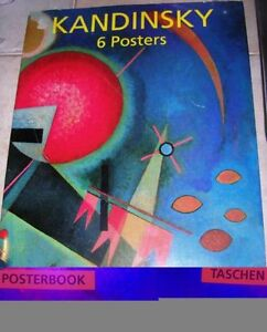 Kandinsky Posterbook - Taschen (6 frame able posters)