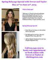Spring Balayage Special