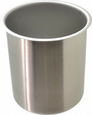 Vollrath Round Chrome Stainless Steel Food Storage Container 7.3 High X 6.1...