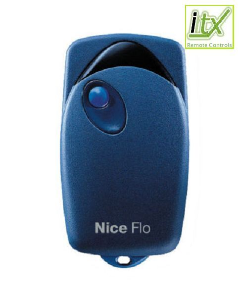 NICE FLO1 Button Key Fob Remote Control Code Electric Gate DIPSWITCHES
