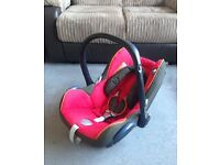 BARGAIN! MAXI-COSI CabrioFix Group 0+ Car Seat in EXCELLENT condition! RRP £100+