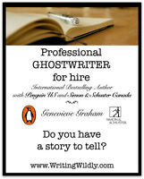 Professional Ghostwriter for Hire