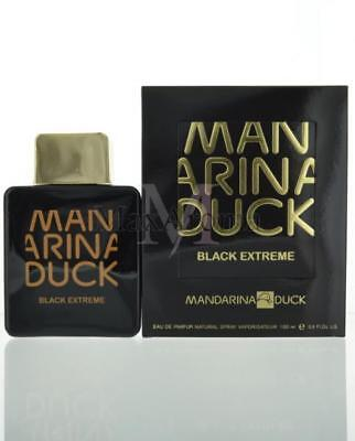 Mandarina Duck Black Extreme 3.4 Oz For Men Eau De Parfum 3.4 Oz Spray NEW