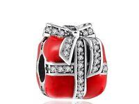Pandora Style 925 Silver Present Charm